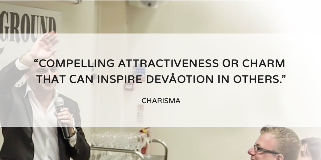 CHARISMA AN INVISIBLE ENERGY