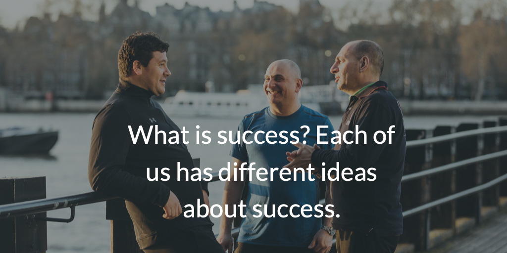 What is success? Each of us has different ideas about success.